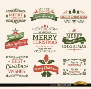christmas-typographic-elements--vintage-labels-and-ribbons_72147501342